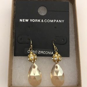 New York & Company Cubic Zirconia Earrings